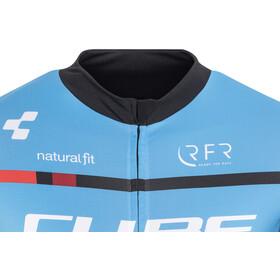 Cube Teamline Bike Jersey Shortsleeve Men blue/black